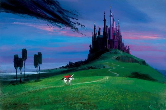 Peter EllenshawAurora's Rescue - From Sleeping BeautyGiclee On Canvas