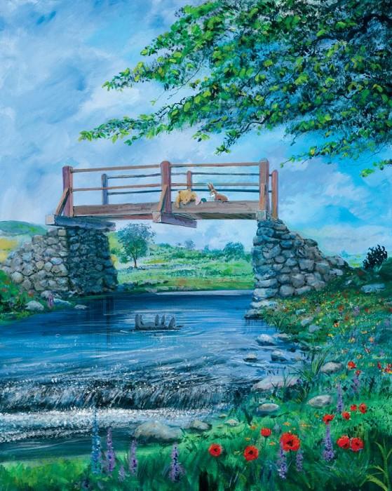 Peter / Harrison EllenshawSpring - From Disney Winnie the PoohGiclee On Canvas