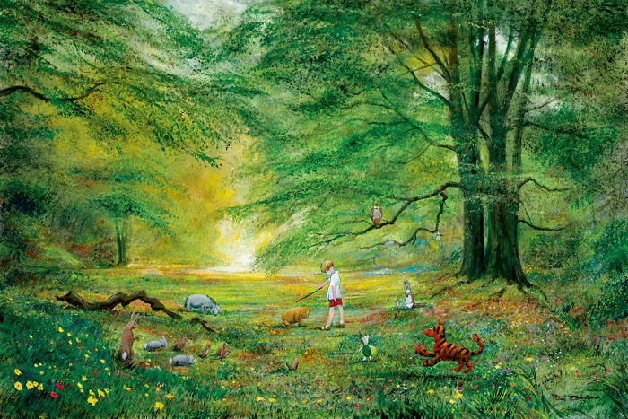 Peter / Harrison EllenshawThe Knighting Of Pooh Winnie The PoohGiclee On Canvas