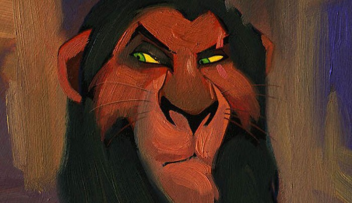 Jim SalvatiI'm Surrounded By Idiots Printers Proof - From The Lion KingGiclee On Canvas