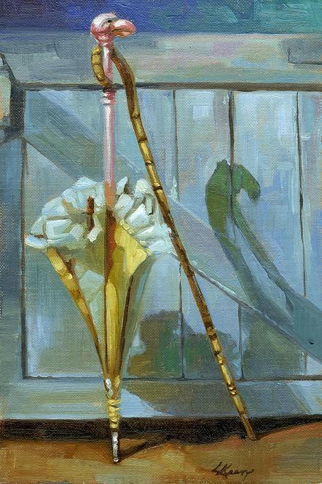 Lisa KeeneA Jolly Pair From Disney Mary PoppinsOriginal Oil on Canvas