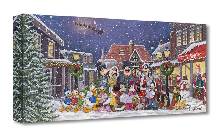 Michelle St Laurent A Snowy Christmas Carol Gallery Wrapped
