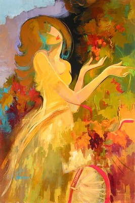Irene Sheri At The Vineyard