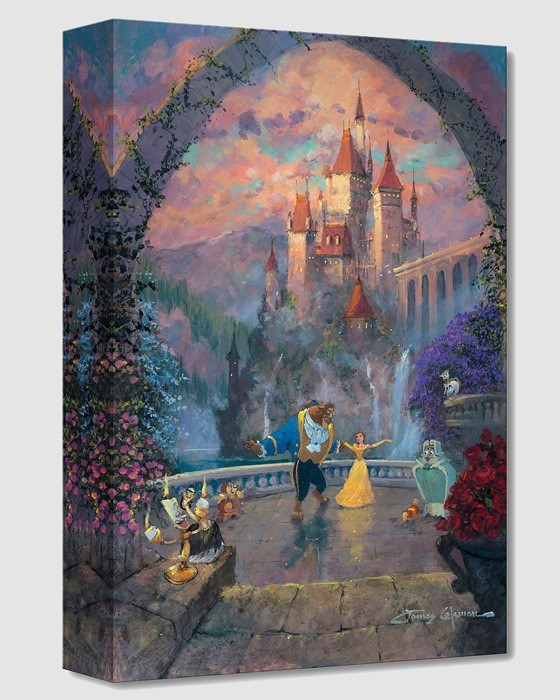James Coleman Beast and Belle Forever From Beauty And The Beast Gallery Wrapped Giclee On Canvas