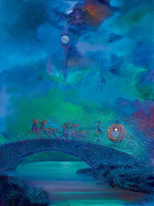 Harrison EllenshawBefore Midnight From Cinderella Hand-Embellished Giclee on Canvas