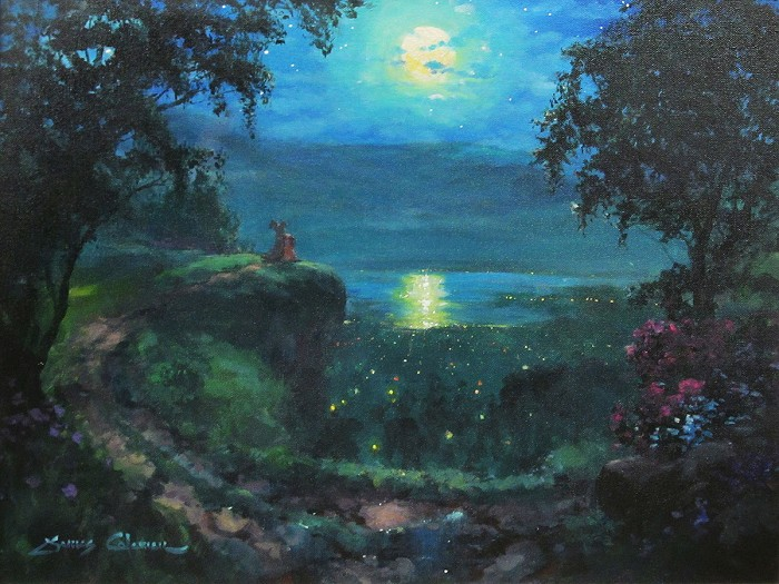 James Coleman Bella Noche Original Acylic on Canvas