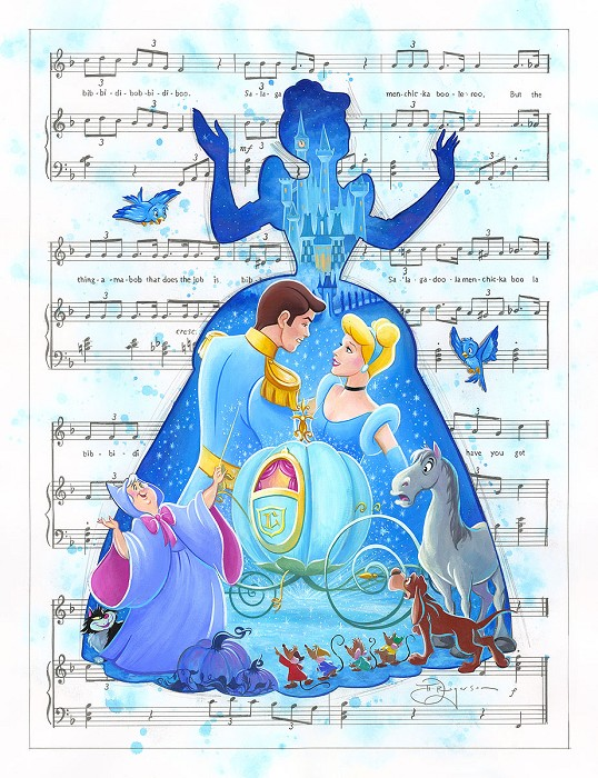 Tim RogersonBibbidi Bobbidi BooHand-Embellished Giclee on Canvas