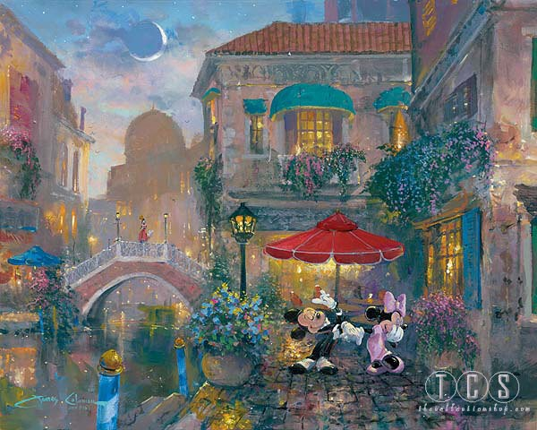 James ColemanBlack Tie Affair Mickey And Minnie MouseGiclee On Canvas