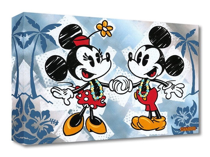 Trevor CarltonThis is Bliss From Mickey and MinnieGallery Wrapped Giclee On Canvas