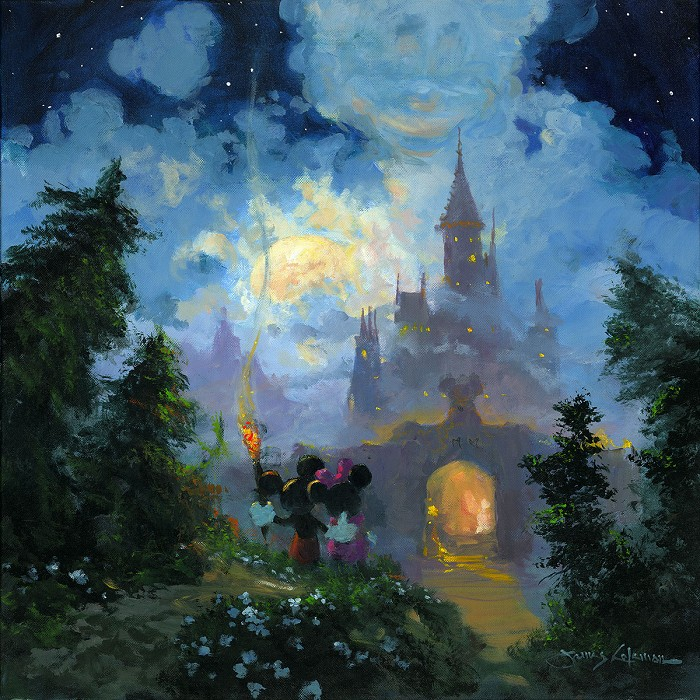 James ColemanAdventure to the Castle GatesHand-Embellished Giclee on Canvas