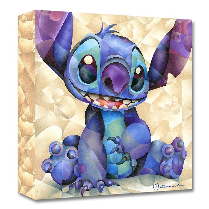 Tom Matousek Cute and Fluffy From Lilo and Stitch Gallery Wrapped Giclee On Canvas