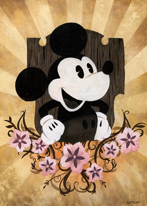 Daniel Arriaga The Mouse Giclee On Paper