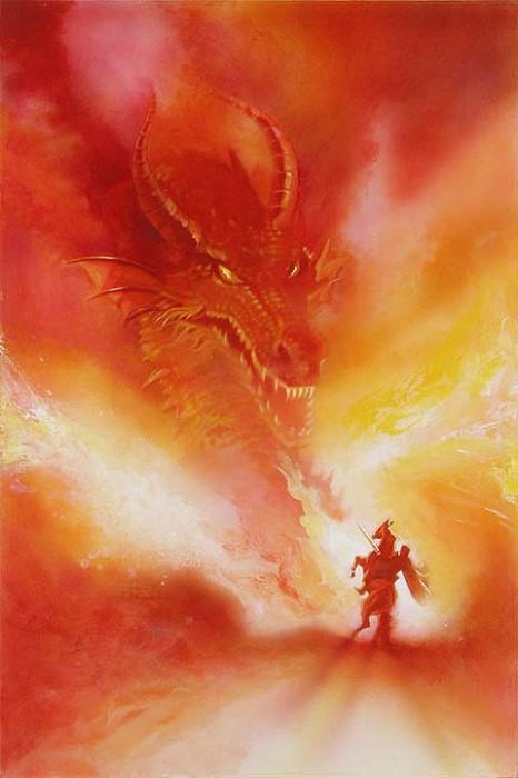 John RoweMALEFICENT AND DRAGONOriginal on Canvas