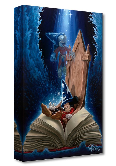 Jared Franco Dreaming of Sorcery Gallery Wrapped Giclee On Canvas