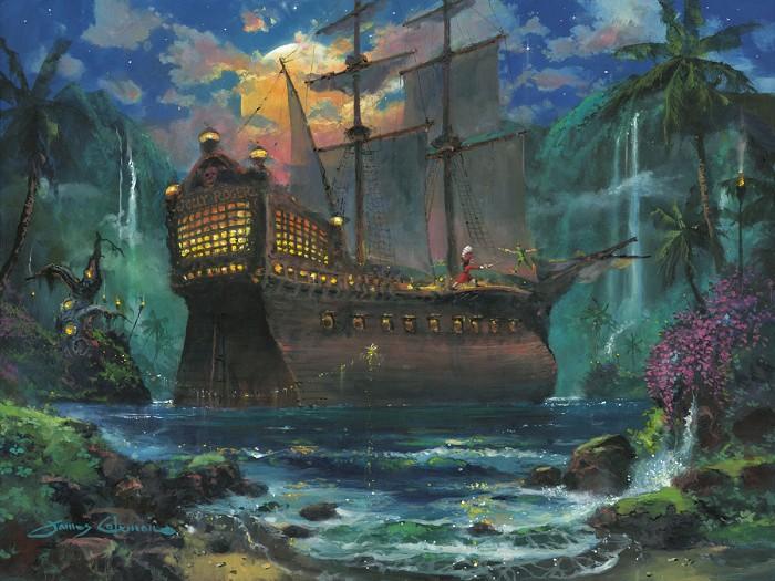 James ColemanThe DuelHand-Embellished Giclee on Canvas
