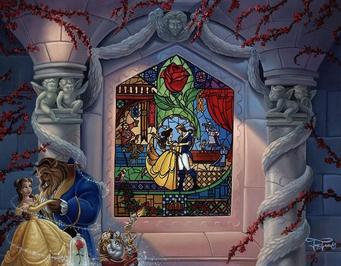 Jared FrancoEnchanted LoveHand-Embellished Giclee on Canvas