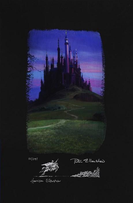 Peter / Harrison EllenshawSleeping Beauty CastleGiclee On Paper