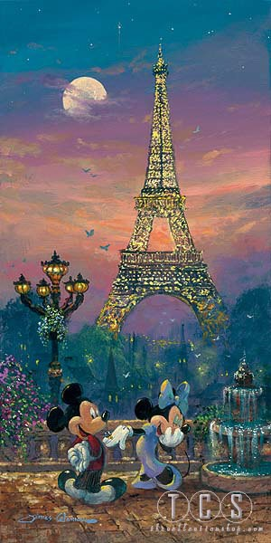 James ColemanEvening In ParisHand-Embellished Giclee on Canvas