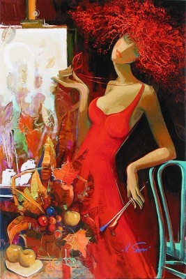 Irene Sheri Fall Feeling A Premonition