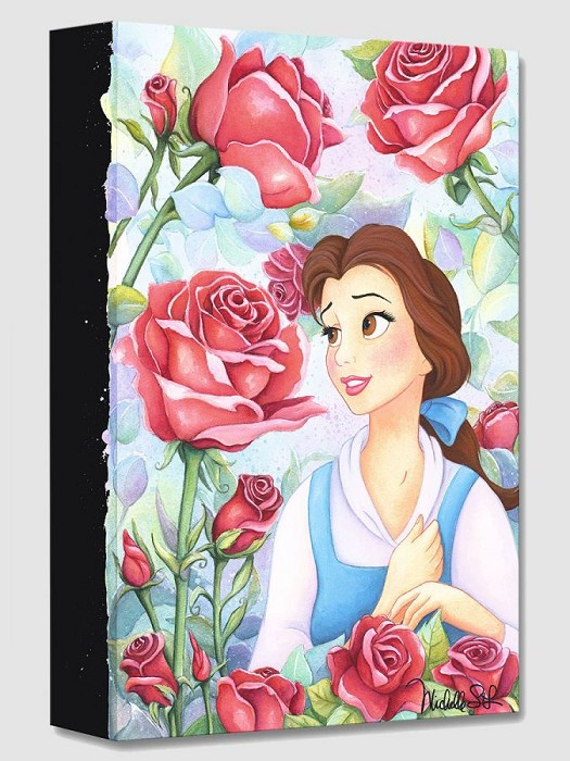 Michelle St LaurentGarden of Roses From Beauty and The BeastGallery Wrapped Giclee On Canvas