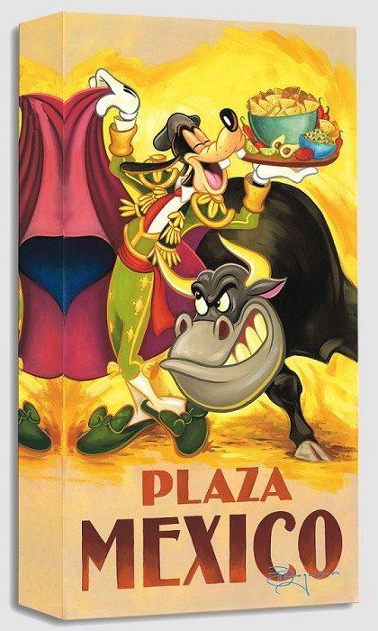 Tim RogersonGoofy's Plaza MexicoGallery Wrapped Giclee On Canvas