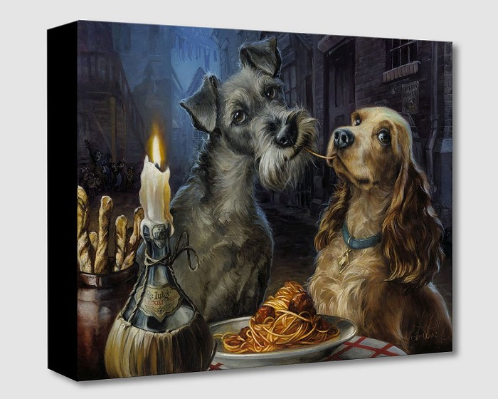 Heather Edwards Bella Notte Hand-Embellished Giclee on Canvas