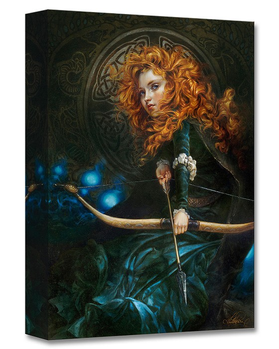 Heather Theurer Her Father's Daughter - From Brave Gallery Wrapped Giclee On Canvas