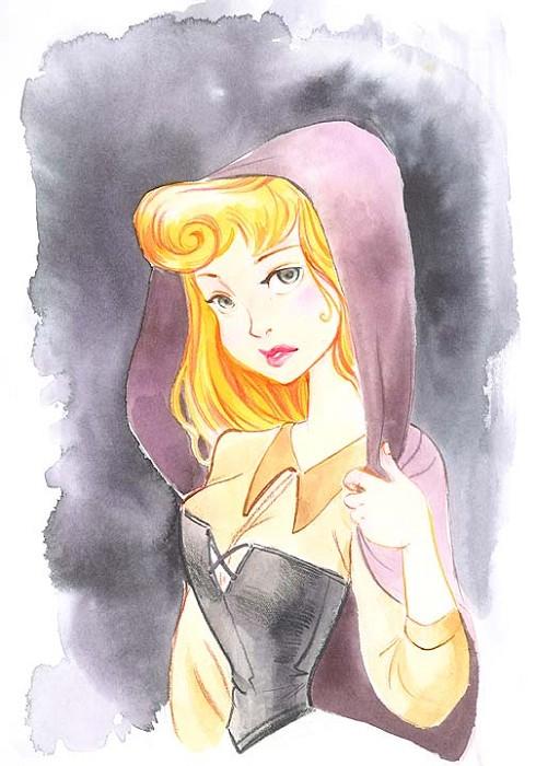 Victoria YingHidden PrincessOriginal Watercolor on Paper