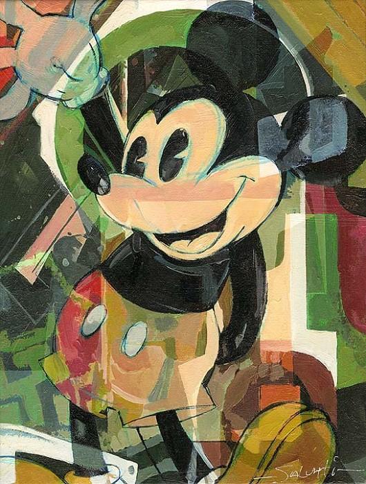 Jim SalvatiHigh FiveHand-Embellished Giclee on Canvas