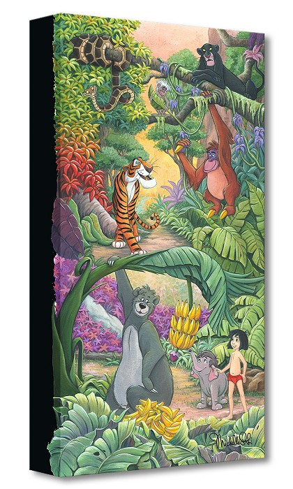 Michelle St Laurent Home in the Jungle Gallery Wrapped Giclee On Canvas