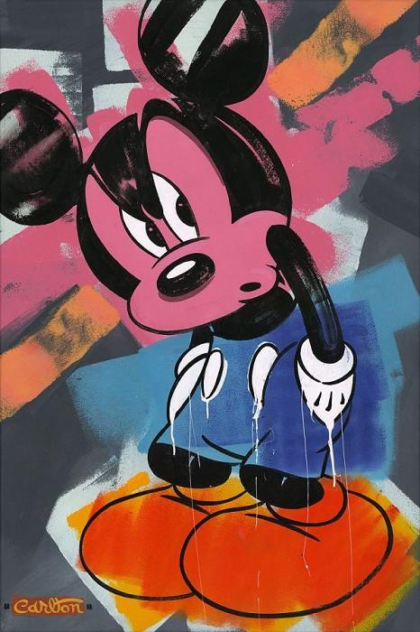 Trevor CarltonHot ShoesHand-Embellished Giclee on Canvas