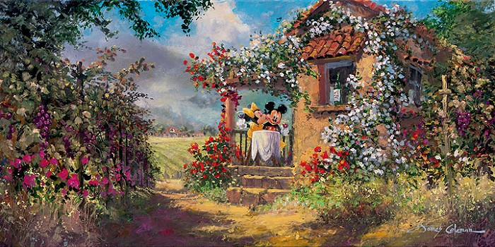 James ColemanOur Old Familiar PlaceGiclee On Canvas