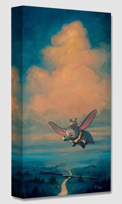 Rob Kaz  Joy of Flight From Dumbo Gallery Wrapped Giclee On Canvas