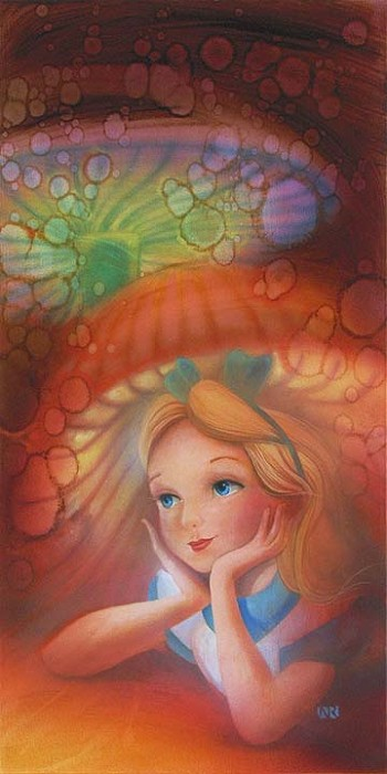 John RoweWondering Original - From Disney Alice in Wonderland