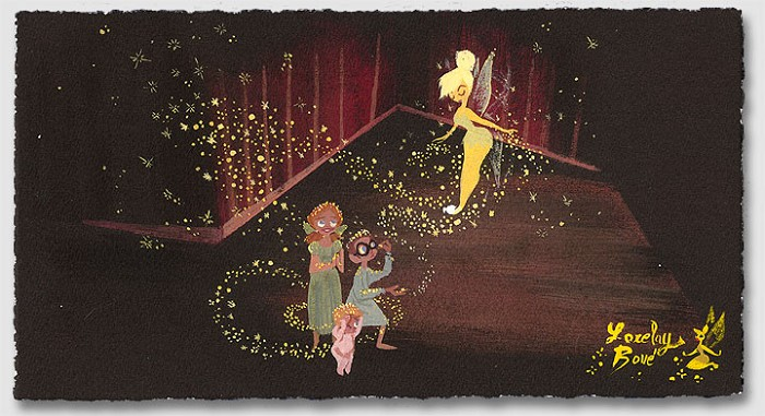 Lorelay Bove Pixie Dust - From Disney Peter Pan Giclee On Paper