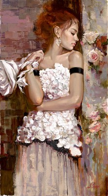 Irene Sheri Life and Art Hand-Embellished Giclee on Canvas