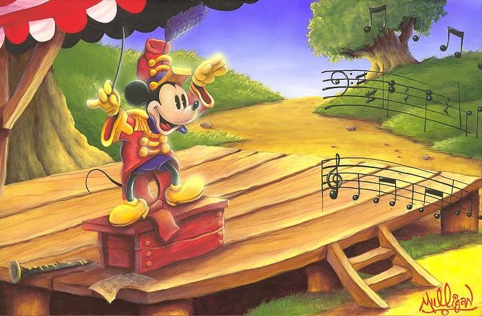 James C MulliganThe Maestros BatonHand-Embellished Giclee on Canvas