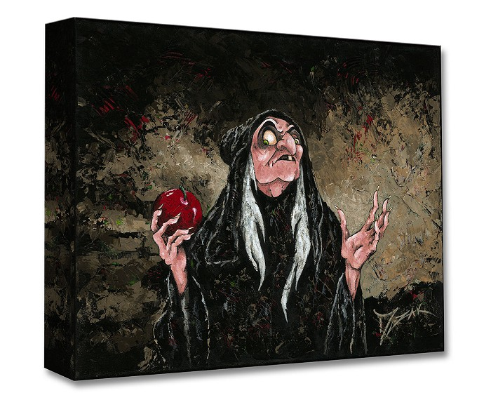 Trevor MezakThe Magic Wishing Apple From Snow White And The Seven Dwarfs