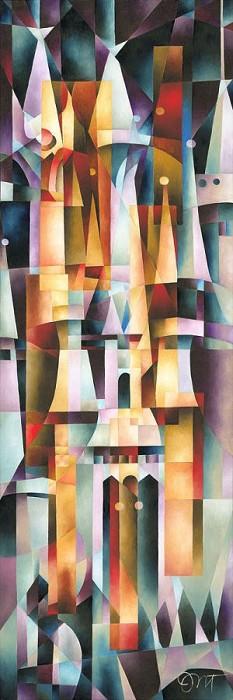 Tom MatousekMajestic PalaceGiclee On Canvas