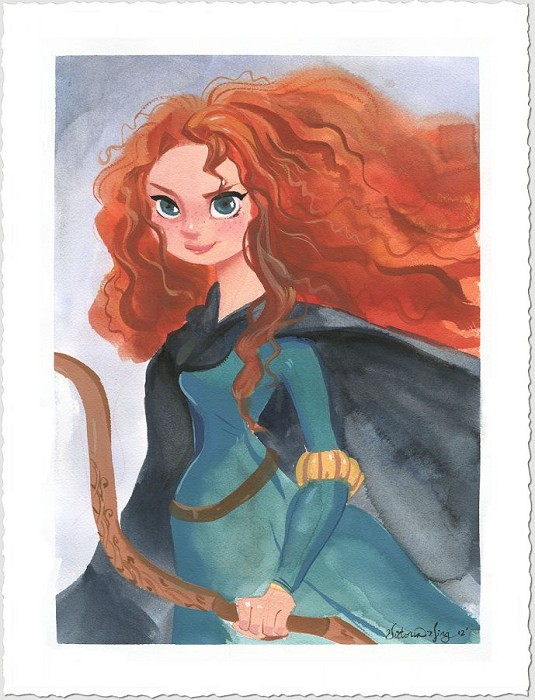 Victoria Ying Merida Giclee On Paper