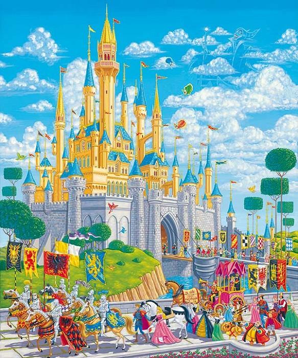 Manuel HernandezA Royal AfternoonHand-Embellished Giclee on Canvas