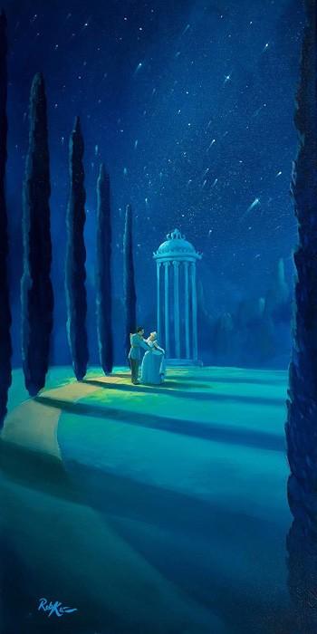 Rob Kaz Moonlight DanceOriginal Oil on Canvas