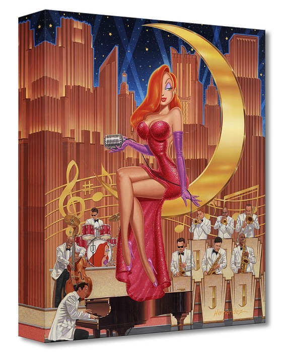 Manuel Hernandez A Moon and a Star Gallery Wrapped Giclee On Canvas