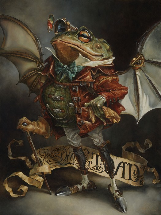 Heather Theurer The Insatiable Mr Toad The Adventures of Ichabod and Mr Toad