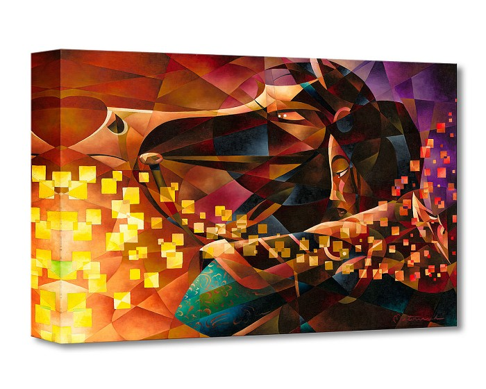 Tom Matousek Mulan the Warrior From Mulan Gallery Wrapped Giclee On Canvas