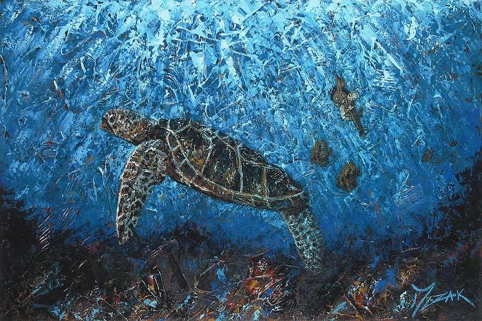 Trevor MezakJiminy and HonuOriginal Acrylic on Canvas