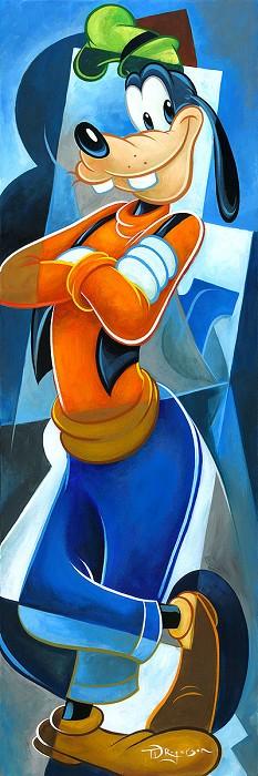 Tim RogersonAlways Trust a GoofOriginal Oil on Canvas