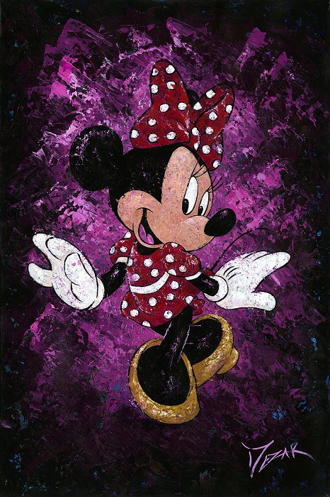 Trevor MezakMinnies Polka Dot DressOriginal Acrylic on Canvas