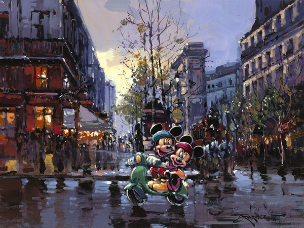 Rodel GonzalezOur AdventureOriginal Acylic on Canvas