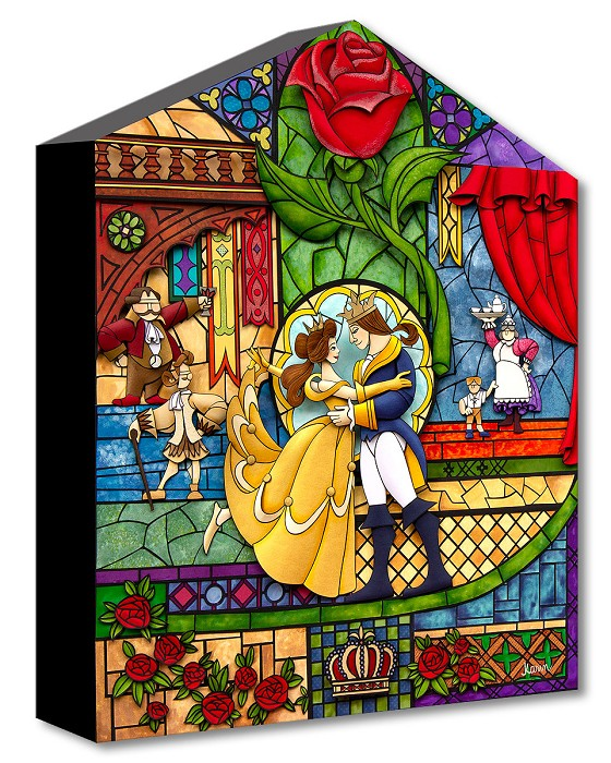 Trevor Carlton Our Fairytale Gallery Wrapped Giclee On Canvas